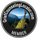 Grief Counseling Locator Badge